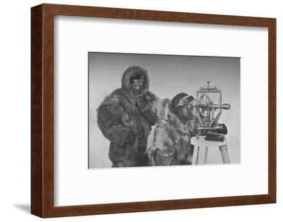 A Chronometer-Observation with the Theodolite', c1893-1896, (1897)-Unknown-Framed Photographic Print