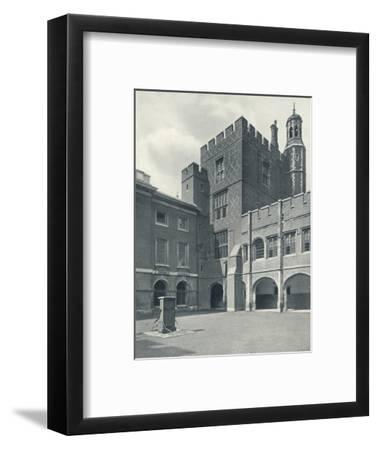 'Cloisters and College Library', 1926-Unknown-Framed Photographic Print