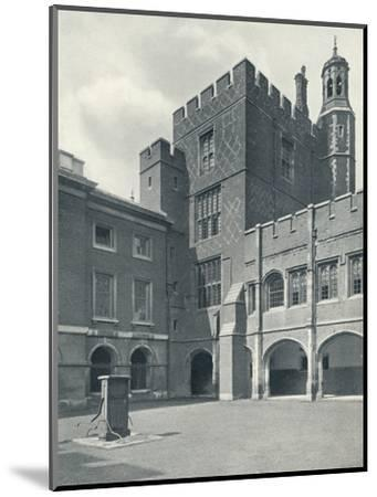 'Cloisters and College Library', 1926-Unknown-Mounted Photographic Print