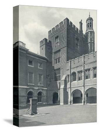 'Cloisters and College Library', 1926-Unknown-Stretched Canvas Print