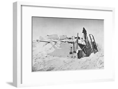 'Ice-Smithy. May, 1895', 1897-Unknown-Framed Giclee Print