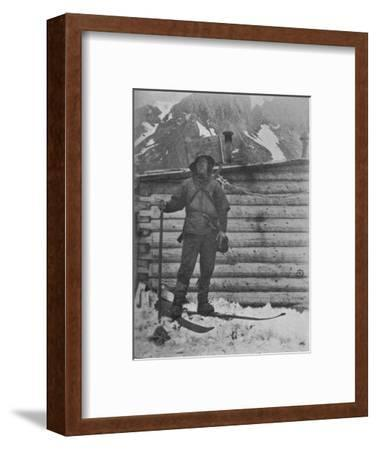 'Nansen at Cafe Flora', c1893-1896, (1897)-Mr Jackson-Framed Photographic Print