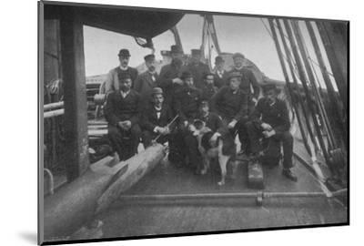 'The Members of the Expedition, after their Return to Christiania', c1893-1896, (1897)-Unknown-Mounted Photographic Print
