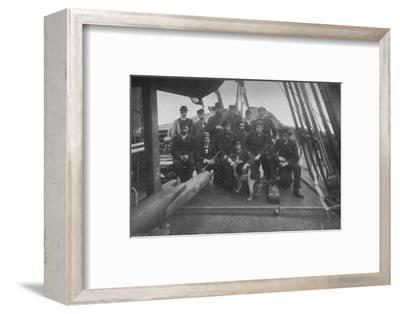 'The Members of the Expedition, after their Return to Christiania', c1893-1896, (1897)-Unknown-Framed Photographic Print