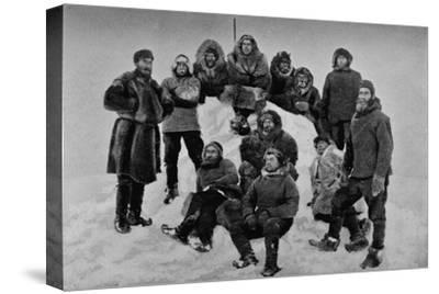 'The Crew of the Fram after their Second Winter. About 24 February, 1895', 1895 (1897)-Unknown-Stretched Canvas Print