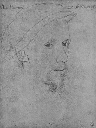 'Henry Howard, Earl of Surrey (Not by Holbein)', c16th century (1945)-Unknown-Framed Giclee Print