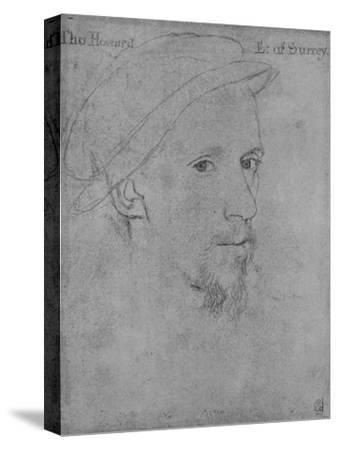 'Henry Howard, Earl of Surrey (Not by Holbein)', c16th century (1945)-Unknown-Stretched Canvas Print