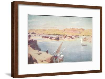 'The First Cataract', c1880, (1904)-Robert George Talbot Kelly-Framed Giclee Print