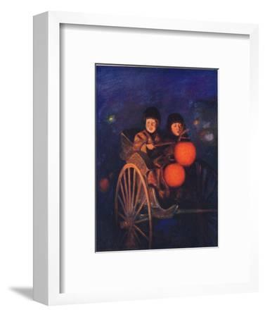 'By the Light of the Lanterns', c1887, (1901)-Mortimer L Menpes-Framed Giclee Print