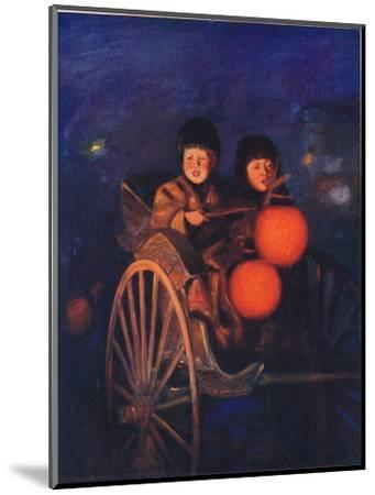 'By the Light of the Lanterns', c1887, (1901)-Mortimer L Menpes-Mounted Giclee Print