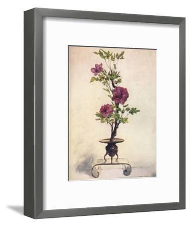 'Flower-Placing', c1887, (1901)-Mortimer L Menpes-Framed Giclee Print