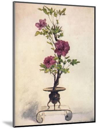 'Flower-Placing', c1887, (1901)-Mortimer L Menpes-Mounted Giclee Print