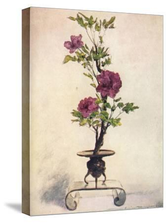 'Flower-Placing', c1887, (1901)-Mortimer L Menpes-Stretched Canvas Print