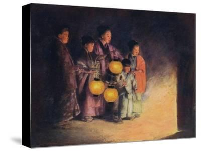 'By the Light of the Lantern', c1887, (1901)-Mortimer L Menpes-Stretched Canvas Print
