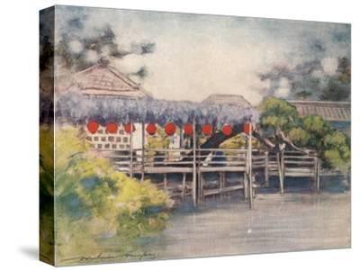 'A Sunny Garden', c1887, (1901)-Mortimer L Menpes-Stretched Canvas Print