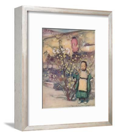 'A Little Japanese Boy', c1887, (1901)-Mortimer L Menpes-Framed Giclee Print