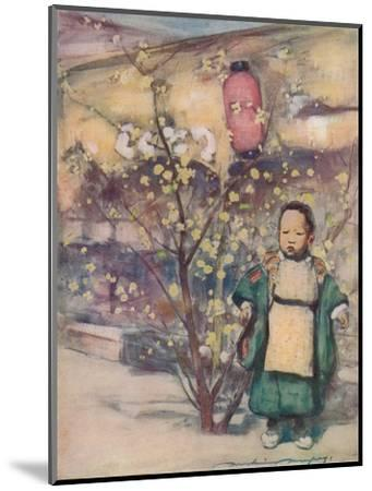 'A Little Japanese Boy', c1887, (1901)-Mortimer L Menpes-Mounted Giclee Print