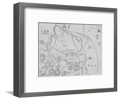 'Plan of Flodden Field', 9 September 1513, (c1880)-Unknown-Framed Giclee Print