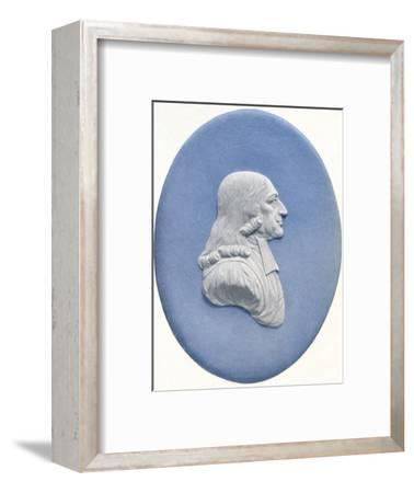'John Wesley, (1703-1791)', c18th century, (1936)-Unknown-Framed Photographic Print