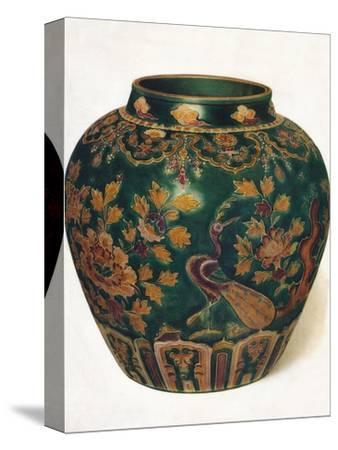 'Wine Jar: Ming Dynasty', c1500, (1936)-Unknown-Stretched Canvas Print