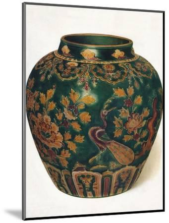 'Wine Jar: Ming Dynasty', c1500, (1936)-Unknown-Mounted Photographic Print