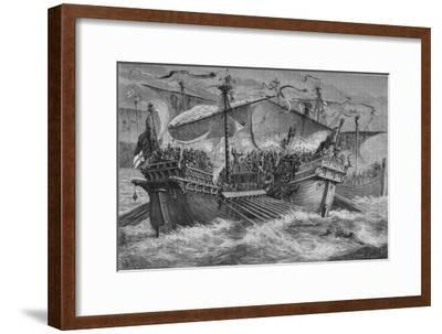 'The Battle of Dover', 24 August 1217, (c1880)-Unknown-Framed Giclee Print