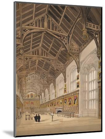 'Christ Church Hall Oxford', 1845-Unknown-Mounted Giclee Print