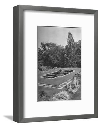 'The Lily Basin, The White Lodge, Richmond', 1926-Unknown-Framed Photographic Print