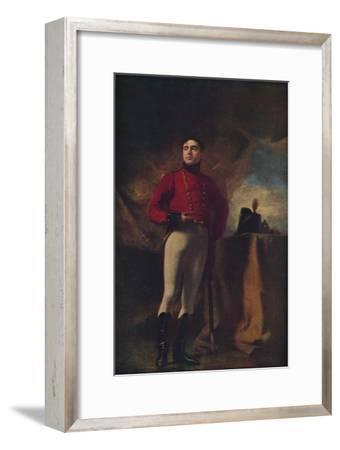 'Thomas Robert, Eleventh Earl of Kinnoull', 1815, (1936)-Henry Raeburn-Framed Giclee Print
