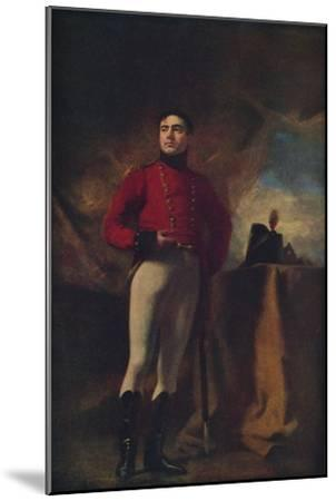 'Thomas Robert, Eleventh Earl of Kinnoull', 1815, (1936)-Henry Raeburn-Mounted Giclee Print