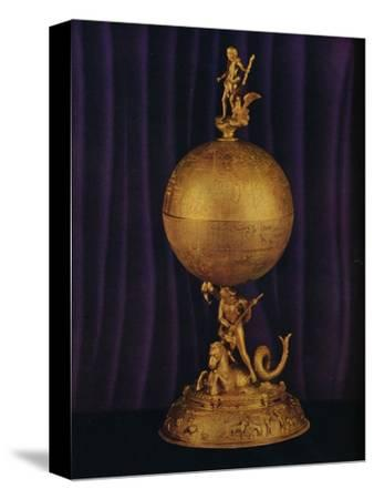 'The 'Airthrey' Gold Globe Cup: South German', c1560-1565, (1936)-Unknown-Stretched Canvas Print