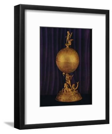 'The 'Airthrey' Gold Globe Cup: South German', c1560-1565, (1936)-Unknown-Framed Photographic Print