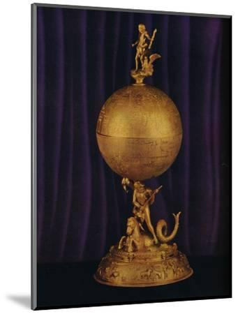 'The 'Airthrey' Gold Globe Cup: South German', c1560-1565, (1936)-Unknown-Mounted Photographic Print
