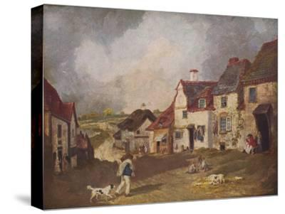 'Pegwell Bay, Ramsgate', c1800, (1936)-Unknown-Stretched Canvas Print