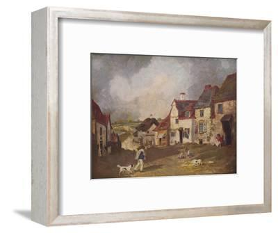 'Pegwell Bay, Ramsgate', c1800, (1936)-Unknown-Framed Giclee Print