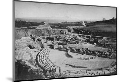 'Carthage. The Amphitheatre', c1913-Charles JS Makin-Mounted Photographic Print