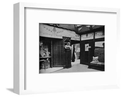 'Room of the Prague School of Arts and Crafts, St. Louis', 1905-Unknown-Framed Photographic Print