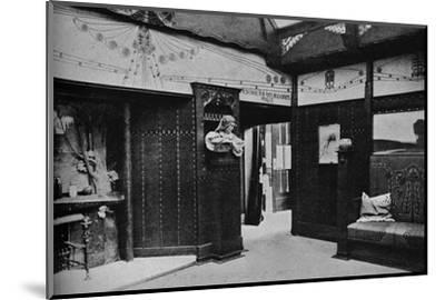 'Room of the Prague School of Arts and Crafts, St. Louis', 1905-Unknown-Mounted Photographic Print