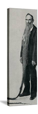 'The Longest Beard on Record', 1896, (1910)-Unknown-Stretched Canvas Print