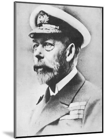 'George V, King of the United Kingdom from 1910', c1936, (1945)-Unknown-Mounted Photographic Print