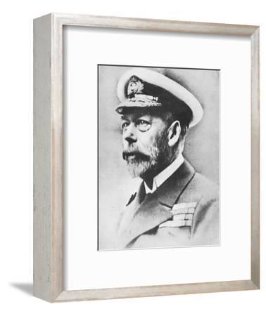 'George V, King of the United Kingdom from 1910', c1936, (1945)-Unknown-Framed Photographic Print