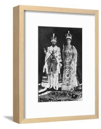 'In spring 1910, King Edward VII died, in March 1911, King George V was crowned', 1911, (1945)-Unknown-Framed Photographic Print