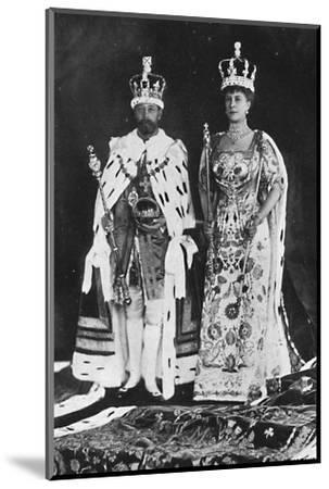 'In spring 1910, King Edward VII died, in March 1911, King George V was crowned', 1911, (1945)-Unknown-Mounted Photographic Print