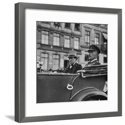 'He went to Cologne to the Headquarters of the British Army of Occupation', c1919, (1945)-Unknown-Framed Photographic Print