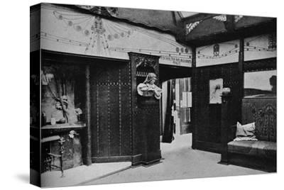 'Room of the Prague School of Arts and Crafts, St. Louis', 1905-Unknown-Stretched Canvas Print
