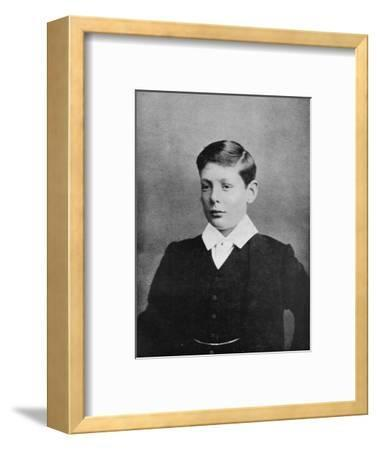 'In 1888, Winston S. Churchill went to Harrow', c1888, (1945)-Unknown-Framed Photographic Print