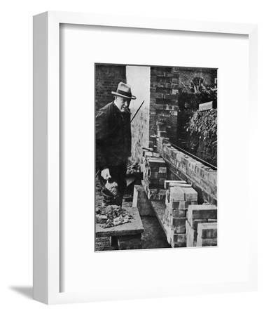 'A hobby', c1930, (1945)-Unknown-Framed Photographic Print