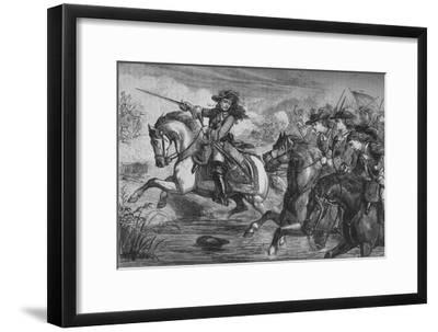 'Willliam III. At the Boyne', 1690, (c1880)-Unknown-Framed Giclee Print
