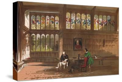 'Hall at Ockwells, Berkshire', 1845-Unknown-Stretched Canvas Print