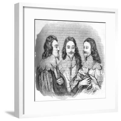 'Charles I', 1845-Unknown-Framed Giclee Print